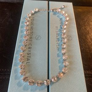 Touch Stone Crystal Glitz Necklace